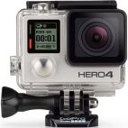 Camera Video de Actiune GoPro HERO 4 Silver Edition, Filmare Full HD, 12MP, Ecran tactil, Waterproof, Wi-Fi, Bluetooth