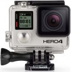 Camera Video de Actiune GoPro HERO 4 Black Edition, Filmare 4K, 12MP, Waterproof, Wi-Fi, Bluetooth
