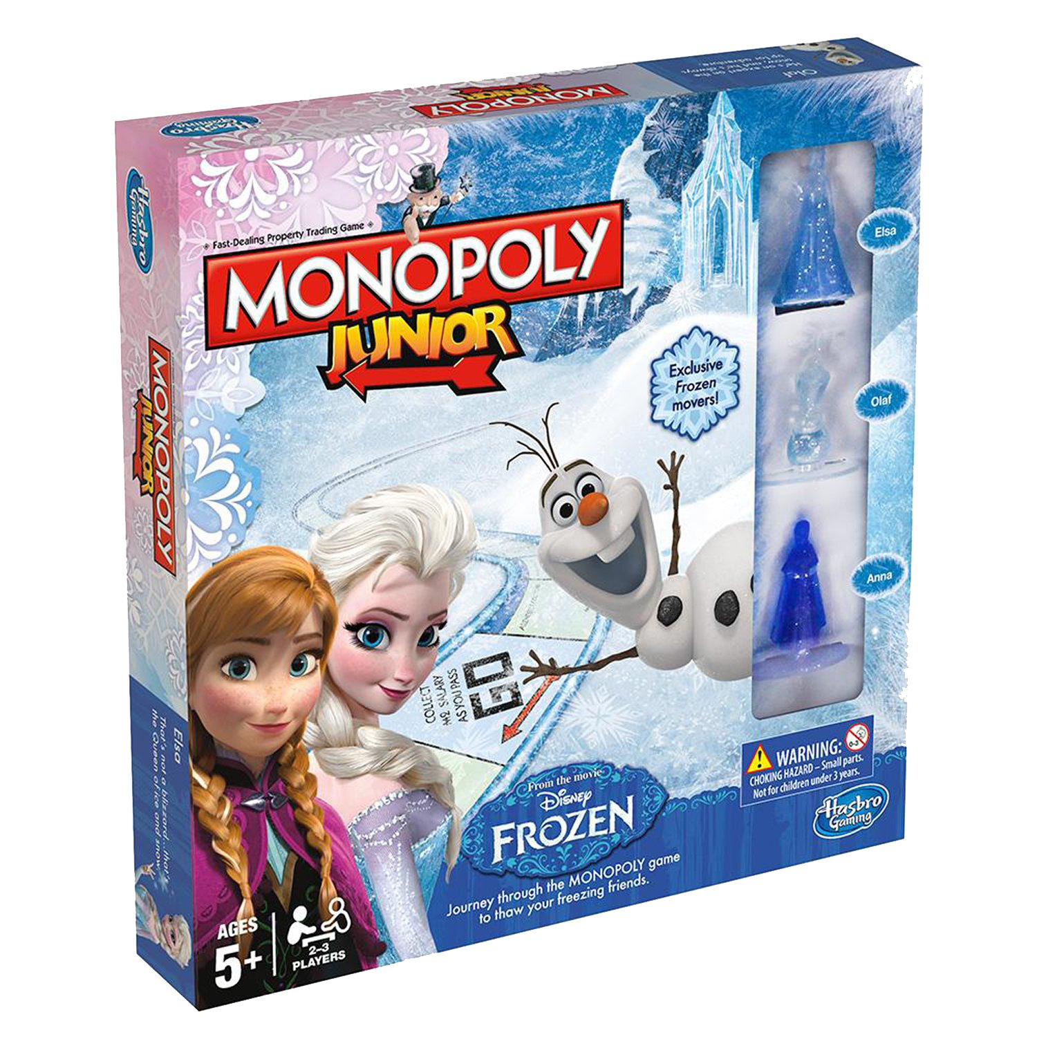 Joc MONOPOLY Junior - Frozen Edition