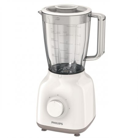 Blender Philips HR2100/00, 400W, 1.5l (Alb)